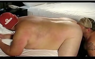 homo engulfing bulky tattoed bears jock
