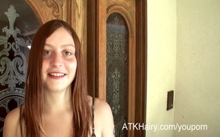 hirsute tattooed gal lilac is here to show her
