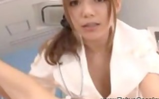 nympho hot and juicy oriental nurse acquires hot