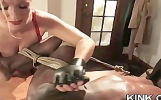sexy charming gal dominated