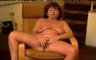 chair masturbation of french carla 65 years