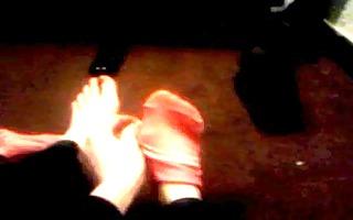 ex gf removing her socks 7