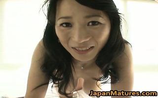 concupiscent japanese aged babes engulfing