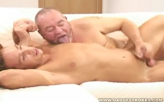 daddys enchanting guy - dad jerks of younger