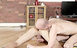 lucas davidson acquires anally abased and made