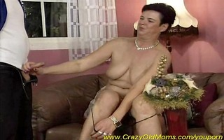 eager mama has pleasure with cocks