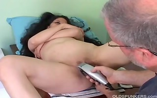 captivating older lalin cutie acquires her cookie
