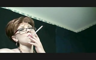 smoking fetish - mommy smokin and dancing