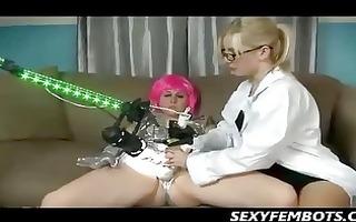 sci fi lesbo orgasms