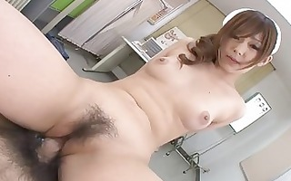 sexy oriental gang group-sex scene