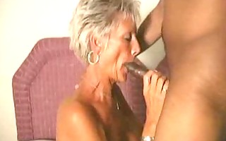 old mommy acquires blasted on her wrinkly face