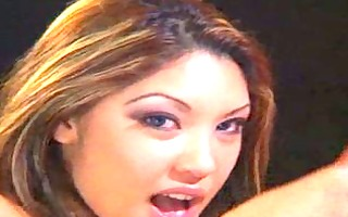 oriental pornstar facialed