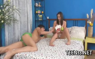 soaked legal age teenager welcomes large pounder