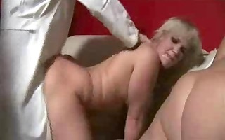 mother and not her daughter in a gang group sex -