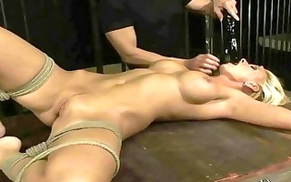 hawt older blond acquires servitude and anal