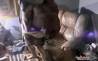 dad receives his ramrod drained
