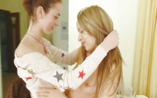 natasha and ivana french lesbian babes