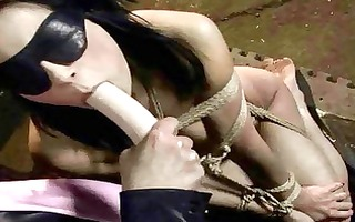 juvenile femdom-goddess punishing older blond