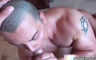 jake fucking and engulfing plump homosexual dick