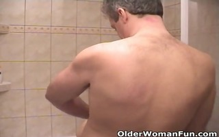 grandma bonks and sucks off older man