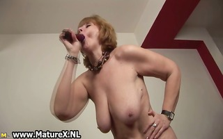 old exposed housewife is engulfing large part7