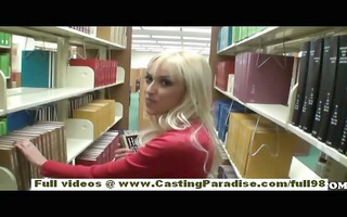 breanne benson dilettante blond teen with natural