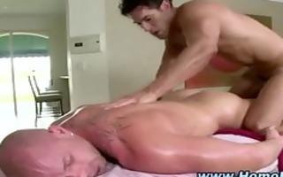 str muscley chap turns homo
