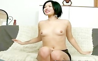 exotic 17 year old chick takes a fat dong in sexy