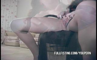 vehement sexy fisting love