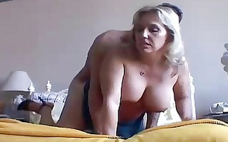 beautiful breasty older chick boned and blasted