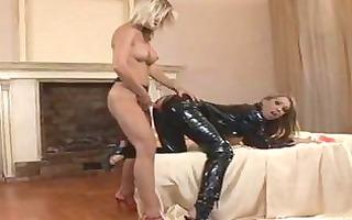 sizzling lesbo gitta szoke bangs her girlfriend