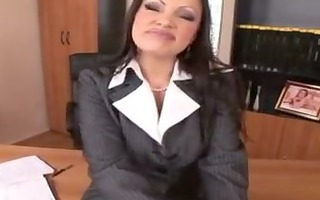 aria giovanni disrobes out of nylons p8