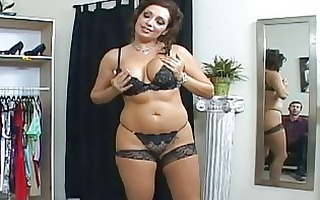 glamorous breasty dark brown mother i sucking