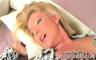 granny drilled by younger dude