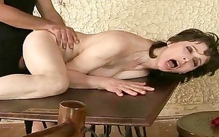 nasty granny enjoys hard fucking