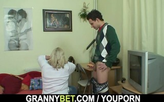 a fascinating surprise for massive granny