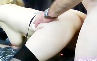 hot aged blond kas hardcore fucks her old chap