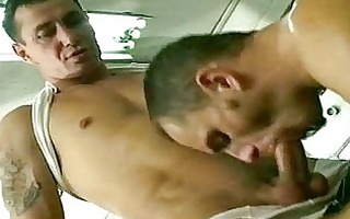 cum gurgling twink receives his face drilled