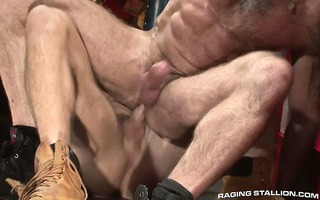 jake and trenton have perspired coarse sex on the