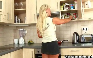 mature housewife sucks and copulates in the