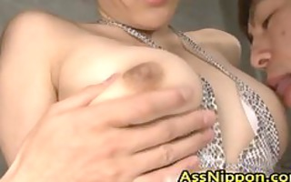 hawt oriental playgirl receives vagina and rectal