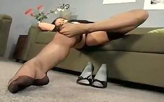 aria giovanni stocking striptease