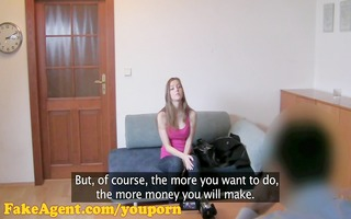 fakeagent hd hot dilettante acquires her first