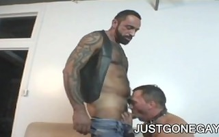 wicked tattooed bear tom colt copulates ally