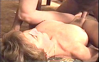 wife drilled by her spouse