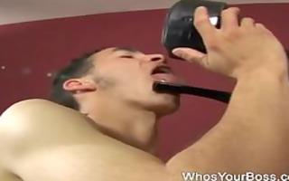 super hot femdom torturing a chap