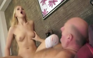 old stud with a youthful whore