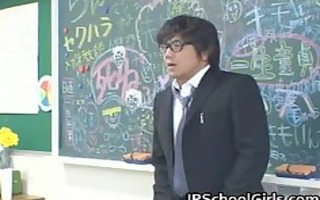 oriental students in the classroom are part7