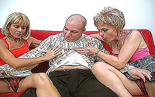 non-professional three-some with 11 wicked aged