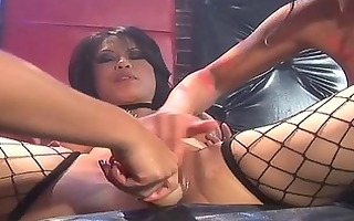 lesbo is giving hottie pleasure with her carpet